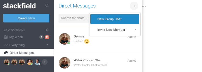 Direct Messages: Group Chat