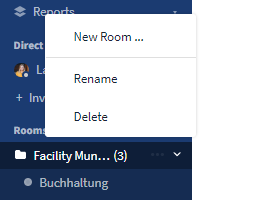 Add a New Room directly to a Room Group
