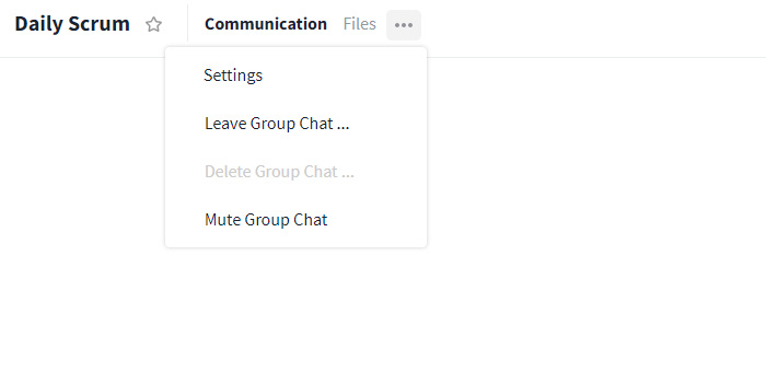 group chat options