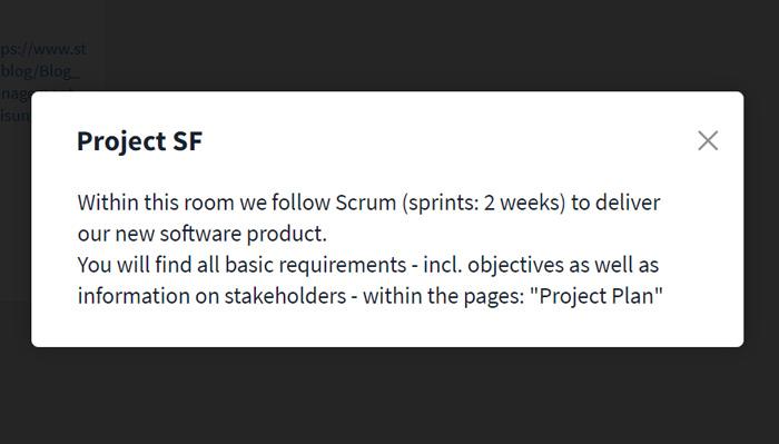 Room description preview