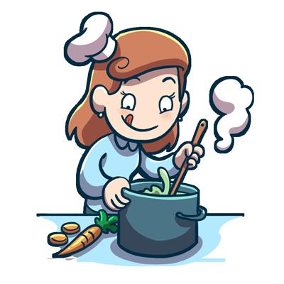 Emoji Sticker - kochen