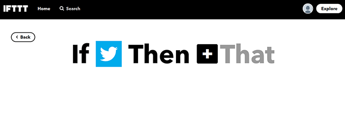 IFTTT: Choose That