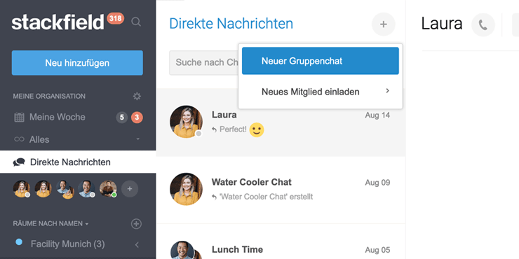 update-gruppenchat