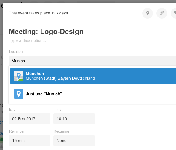 Create and working with Events  How this works in Stackfield