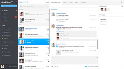 Real-time communication for business-teams.